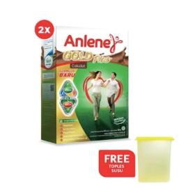 Anlene Gold Plus Chocolate 250gr 2 Pcs
