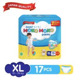 Genki Moko Moko Pants XL - 15 pcs +2 pcs