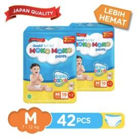 Genki Moko Moko Pants M - 19 pcs +2 pcs X 2