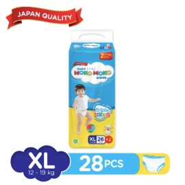 Genki Moko Moko Pants Jumbo XL - 26 pcs +2 pcs