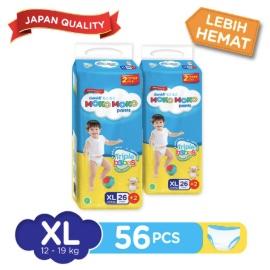 Genki Moko Moko Pants Jumbo XL - 26 pcs +2 pcs X 2