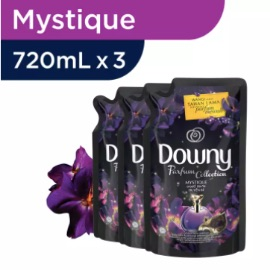 Downy Mystique Refill 720ml - Paket isi 3