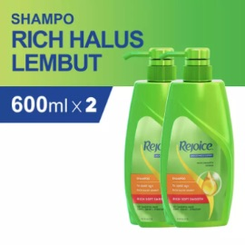 Rejoice Shampoo Rich 600ml - PACK OF 2