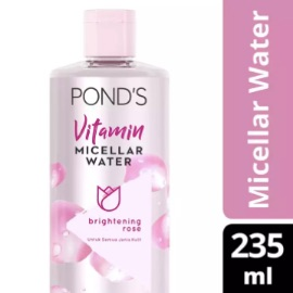 PONDS VITAMIN MICELLAR WATER (MAKEUP REMOVER) BRIGHTENING ROSE 235ML