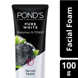 Ponds Pure White Facial Foam [100 g]