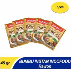 Bumbu Instant Indofood Rawon X 5 Pc