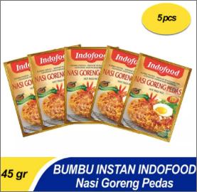 Bumbu Instant Indofood Nasi Goreng Pedas X 5 Pc