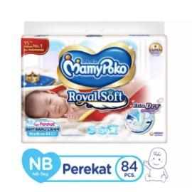 MamyPoko Popok Perekat Royal Soft NB84