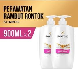 Pantene Shampoo Hairfall Control 900ml Paket Isi 2 [P&G]
